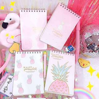Pinky Pineapple Note Book [Pre-order]