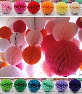 Birthday Party Wedding Decoration Honeycomb Paper Ball