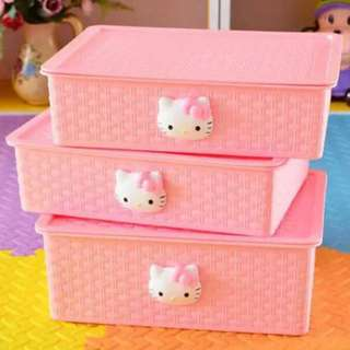 Hello Kitty Organizer Box with Division