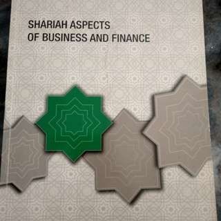 Shariah Aspects Of Business And Finance INCEIF Books