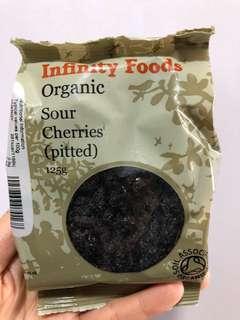 有機無核酸車厘子乾 Organic Pitted Sour Cherries