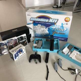 (All-In Flash Deal)- Nintendo Wii Console with 2 Controllers