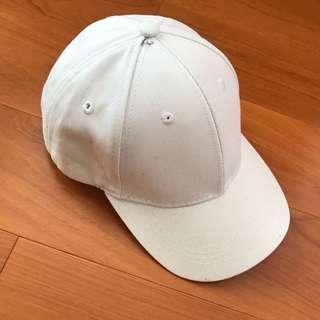 🚚 白色素色 老帽