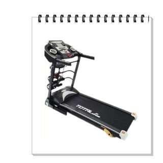 Treadmill TL 8600 Elektrik 5 Fungsi 2 Hp