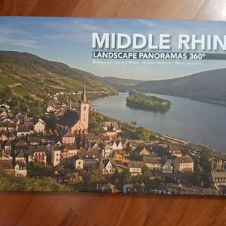 Brand NEW Panaromic Book (35 X 251.5CM) Of River Rhine & Middle Rhine, Germany