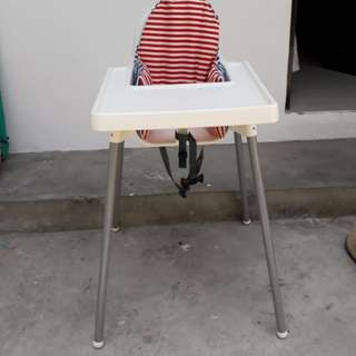 Ikea Antilop High Chair with Cushion