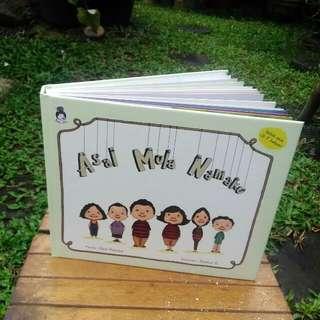 Buku Anak Rabbit Hole Asal Mula Namaku