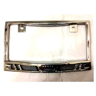(nego) Carplate Frame (Chrome) [VIP]