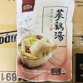 **韓國直送** 人參雞粥600g 購自韓國樂天超市