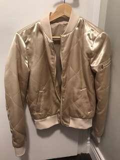 Rose goals bomber jacket