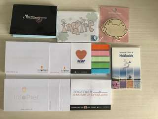 Assorted Post-it Pads - SCDF / Hokkaido / Infopier / Young Changemakers / SIFT / NEA / CA