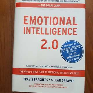 Brand New Emotional Intelligence 2.0 By Travis Bradberry & Jean Greaves