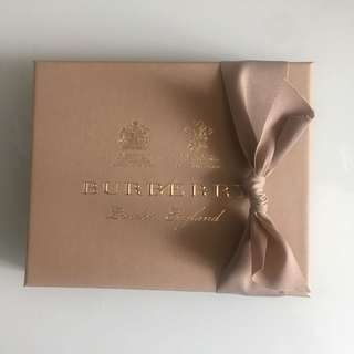 Burberry box