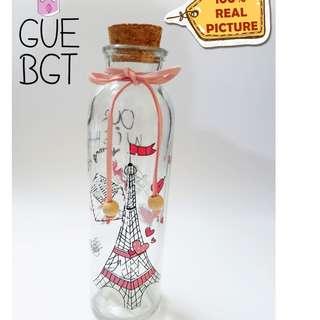 Botol Pantai Harapan / botol harapan / pajangan / botol koleksi