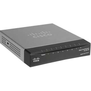 Cisco SG200-08 8-Port Gigabit Smart Switch