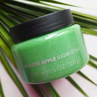 The Body Shop Glazed Apple Sugar Scrub 250ml/300g