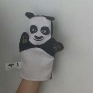 Kung Fu Panda Po Hand Puppet Original Singapore Airlines Merch