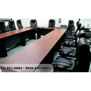 U-Shape Conference ( Desk ) Chairs . Office Partition