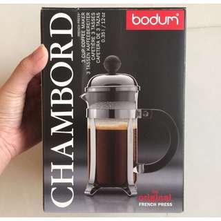 Bodum Chambord Coffee Maker 3 Cup 0.35L/12 Oz French Press