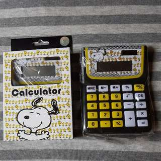 Snoopy & His Friends Calculator - Peanuts Japan