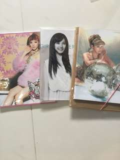 SNSD TIFFANY OFFICIAL NOTEBOOK