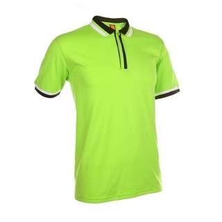 High Quality & Smart Lime Green Unisex Polo Collar T-Shirt