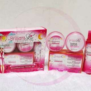 Brilliant skin whitening, rejuvenating set