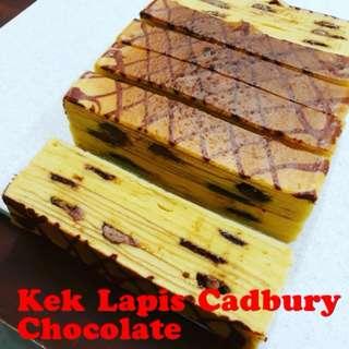 Kek Lapis Cadbury Chocolate