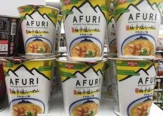日清AFURI柚子塩杯麵
