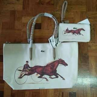 Lacoste with pouch
