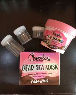 Pinklab.co / pinklab dead sea mask chocolate edition share in jar 10g