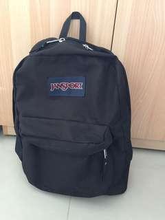 JANSPORT黑色基本款後背包