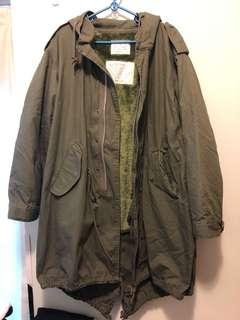 Houston m51 軍褸 army jacket parka m size日牌 vintage wtaps buzz mccoy patagonia usa
