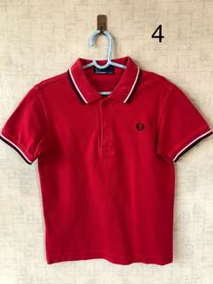 Fred Perry polo shirt for boys