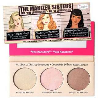 THE BALM - Manizer sisters