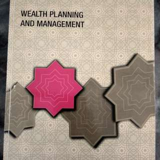 Wealth Planning And Management INCEIF Book