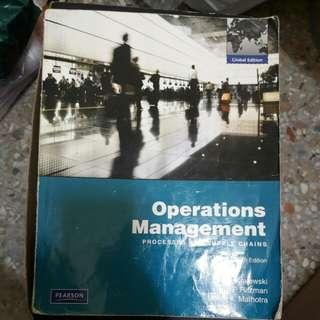 Operations Management Ninth edition