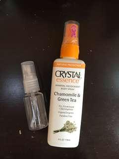 Crystal essence deodorant body spray share in botol 20ml