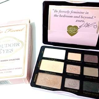 Too Faced Bourdoir Eyes Eyeshadow Palette