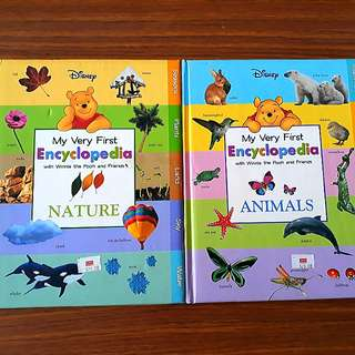 2 for $10: My Very First Encyclopedia with Winnie the Pooh and Friends: Animals, Nature