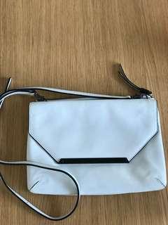 White Mimco hip bag