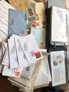 200+ Hitler nazi stamps , Uk stamps ,British stamps , Germany stamps on letter covers , specials and others , no duplicates 1Rm 1 cover min order 10 pieces