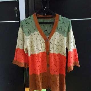 Preloved korean style woll sweater