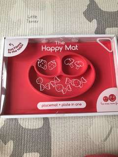 BNIB Ezpz Happy Mat (Red)