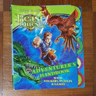 Beast Quest - Adventurer's Handbook with Stickers, Puzzles & Games