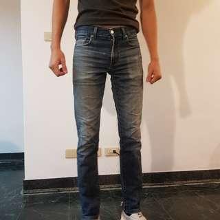 🚚 Uniqlo直筒牛仔褲