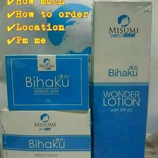 Bihaku Whitening Set