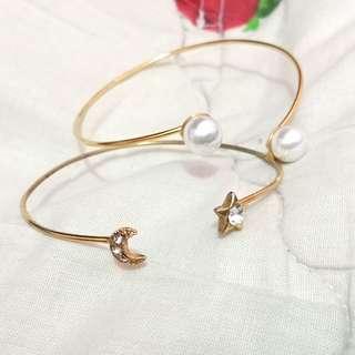 Bracelet's 2 in 1 preloved women