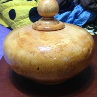 聚寶盆(檜木)