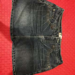Jeans Skirt size 31-32